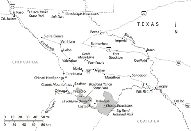 MAPS of Trans-Pecos Texas