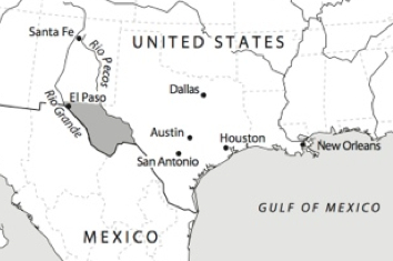 Map Of West Texas And New Mexico.Maps Of Trans Pecos Texas